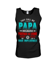 THEY CALL ME PAPA Unisex Tank tile