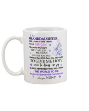 To my Granddaughter from Nony Mug back