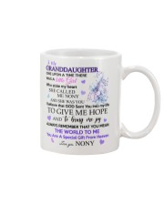 To my Granddaughter from Nony Mug front