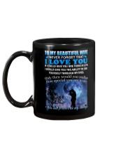 For my Beautiful Wife Mug back