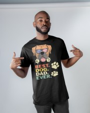 Best Dog Dad Ever  Classic T-Shirt apparel-classic-tshirt-lifestyle-front-32