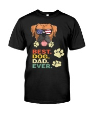Best Dog Dad Ever  Classic T-Shirt front