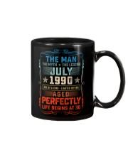 30th Birthday July 1990 Man Myth Legends Mug front