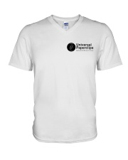 Universal Paperclips Employee V-Neck T-Shirt tile