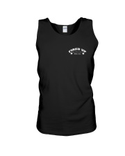 Fired Up Garage Dallas Texas - Front and Back Unisex Tank thumbnail