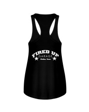 Fired Up Garage Dallas Texas - Front and Back Ladies Flowy Tank tile