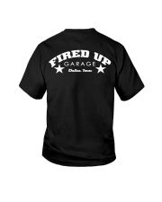 Fired Up Garage Dallas Texas - Front and Back Youth T-Shirt tile