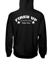 Fired Up Garage Dallas Texas - Front and Back Hooded Sweatshirt tile
