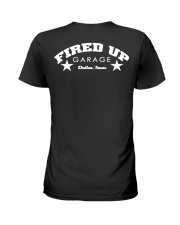 Fired Up Garage Dallas Texas - Front and Back Ladies T-Shirt tile