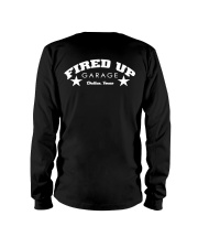 Fired Up Garage Dallas Texas - Front and Back Long Sleeve Tee tile