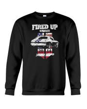Fired Up Garage  - Flag of the United States Crewneck Sweatshirt thumbnail