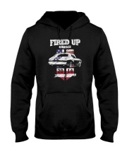 Fired Up Garage  - Flag of the United States Hooded Sweatshirt thumbnail