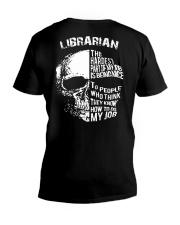 Librarian - The Hardest Part Of My Job V-Neck T-Shirt thumbnail