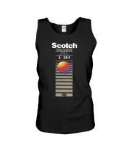 Scotch videocassette eg e 180 T-shirt Unisex Tank thumbnail