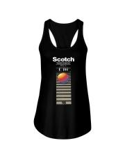 Scotch videocassette eg e 180 T-shirt Ladies Flowy Tank thumbnail