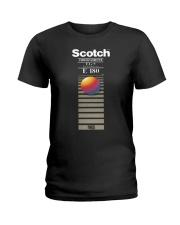 Scotch videocassette eg e 180 T-shirt Ladies T-Shirt thumbnail