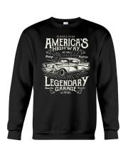 VINTAGE CLASSIC CAR Retro Crewneck Sweatshirt thumbnail