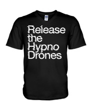 Release the HypnoDrones V-Neck T-Shirt thumbnail