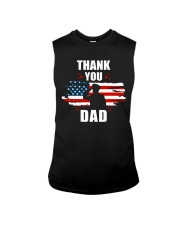 4th of July Independence day Hero Dad Sleeveless Tee thumbnail