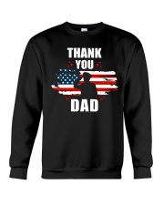 4th of July Independence day Hero Dad Crewneck Sweatshirt tile