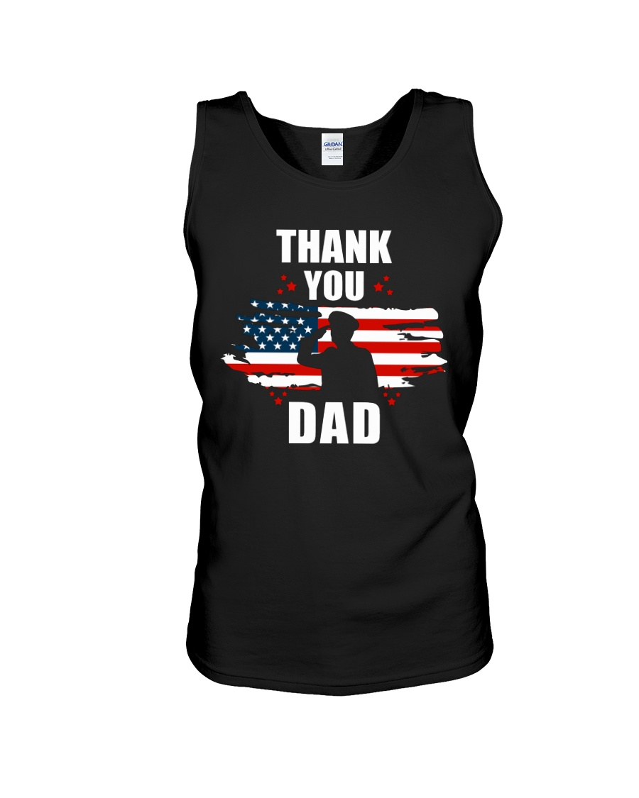 4th of July Independence day Hero Dad Unisex Tank