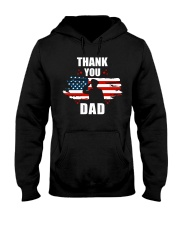 4th of July Independence day Hero Dad Hooded Sweatshirt tile