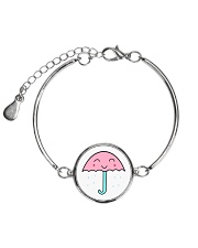 Jewelry Rain Umbrella Metallic Circle Bracelet thumbnail