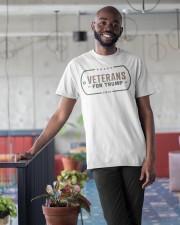 Veterans for Trump T Shirt Classic T-Shirt apparel-classic-tshirt-lifestyle-front-34