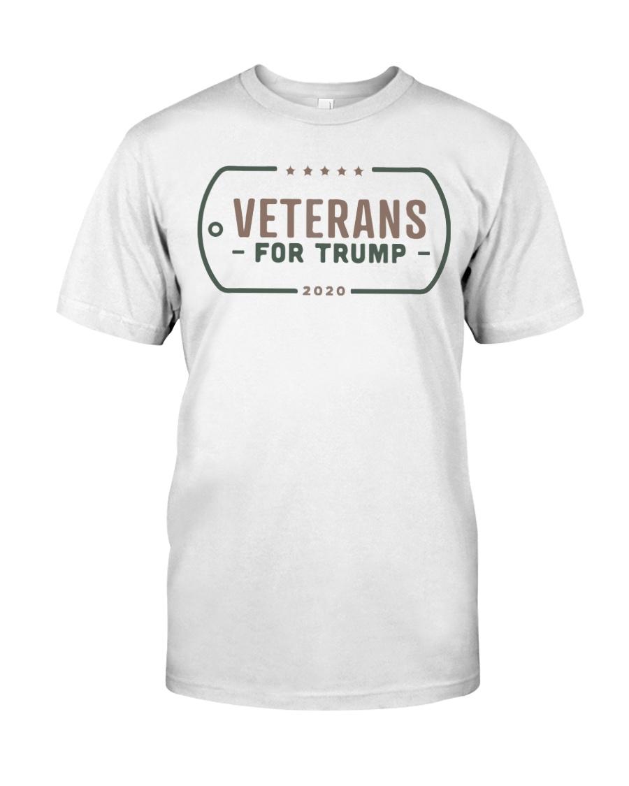 Veterans for Trump T Shirt Classic T-Shirt