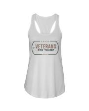 Veterans for Trump T Shirt Ladies Flowy Tank thumbnail