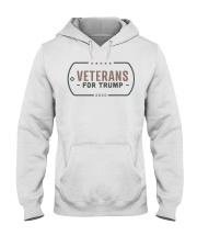 Veterans for Trump T Shirt Hooded Sweatshirt thumbnail