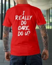 I really do care do u t-shirts Classic T-Shirt lifestyle-mens-crewneck-back-3