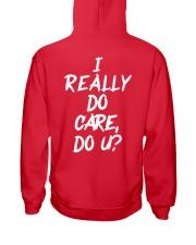 I really do care do u t-shirts Hooded Sweatshirt thumbnail