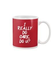 I really do care do u t-shirts Mug thumbnail