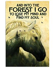 Into The Forest Horse 11x17 Poster front