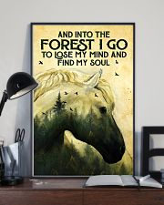 Into The Forest Horse 11x17 Poster lifestyle-poster-2