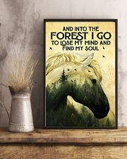 Into The Forest Horse 11x17 Poster lifestyle-poster-3