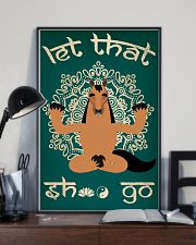 Let That Shxt Go 11x17 Poster lifestyle-poster-2