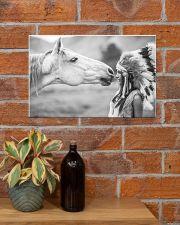 Horse Native 17x11 Poster poster-landscape-17x11-lifestyle-23