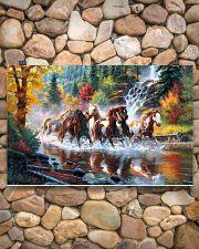 Horse Run 17x11 Poster poster-landscape-17x11-lifestyle-15