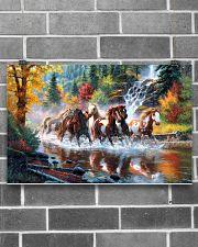 Horse Run 17x11 Poster poster-landscape-17x11-lifestyle-18
