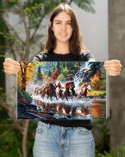 Horse Run 17x11 Poster poster-landscape-17x11-lifestyle-19