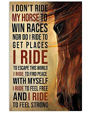 Ride My Horse 11x17 Poster front