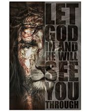Let God In 11x17 Poster front