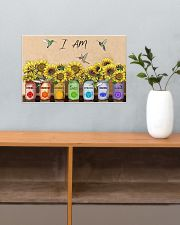I am divine connected expressive loved 17x11 Poster poster-landscape-17x11-lifestyle-24