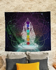 """Meditation Wall Tapestry - 60"""" x 51"""" aos-wall-tapestry-80x68-lifestyle-front-02"""