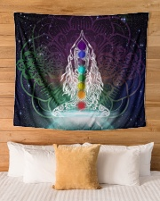 """Meditation Wall Tapestry - 60"""" x 51"""" aos-wall-tapestry-80x68-lifestyle-front-03"""