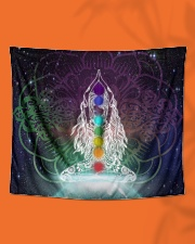 """Meditation Wall Tapestry - 60"""" x 51"""" aos-wall-tapestry-80x68-lifestyle-front-06"""