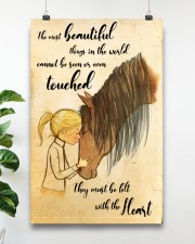 Horse The Most Beautiful 11x17 Poster aos-poster-portrait-11x17-lifestyle-19