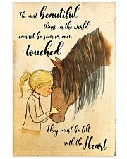 Horse The Most Beautiful 11x17 Poster front